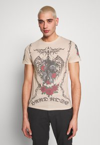 Jaded London - TATTOO - Print T-shirt - beige - 0