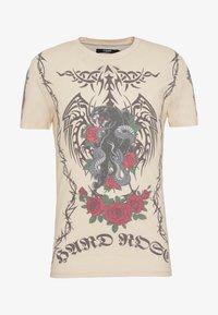 Jaded London - TATTOO - Print T-shirt - beige - 4