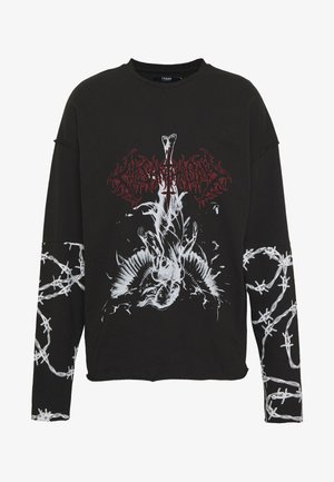 GOTHIC CUT AND SEW - Longsleeve - black