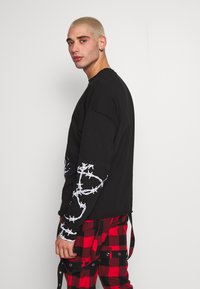 Jaded London - GOTHIC CUT AND SEW - Pitkähihainen paita - black