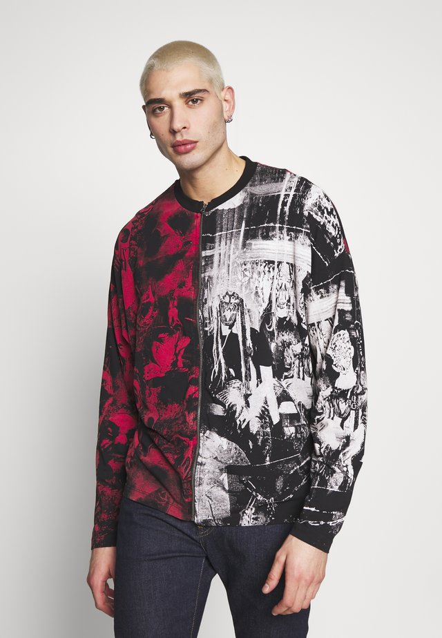 SPLICED ZIP THROUGH PUNK - Langærmede T-shirts - multicoloured
