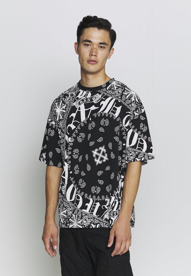 GOTHIC TILE  - T-shirt imprimé - black