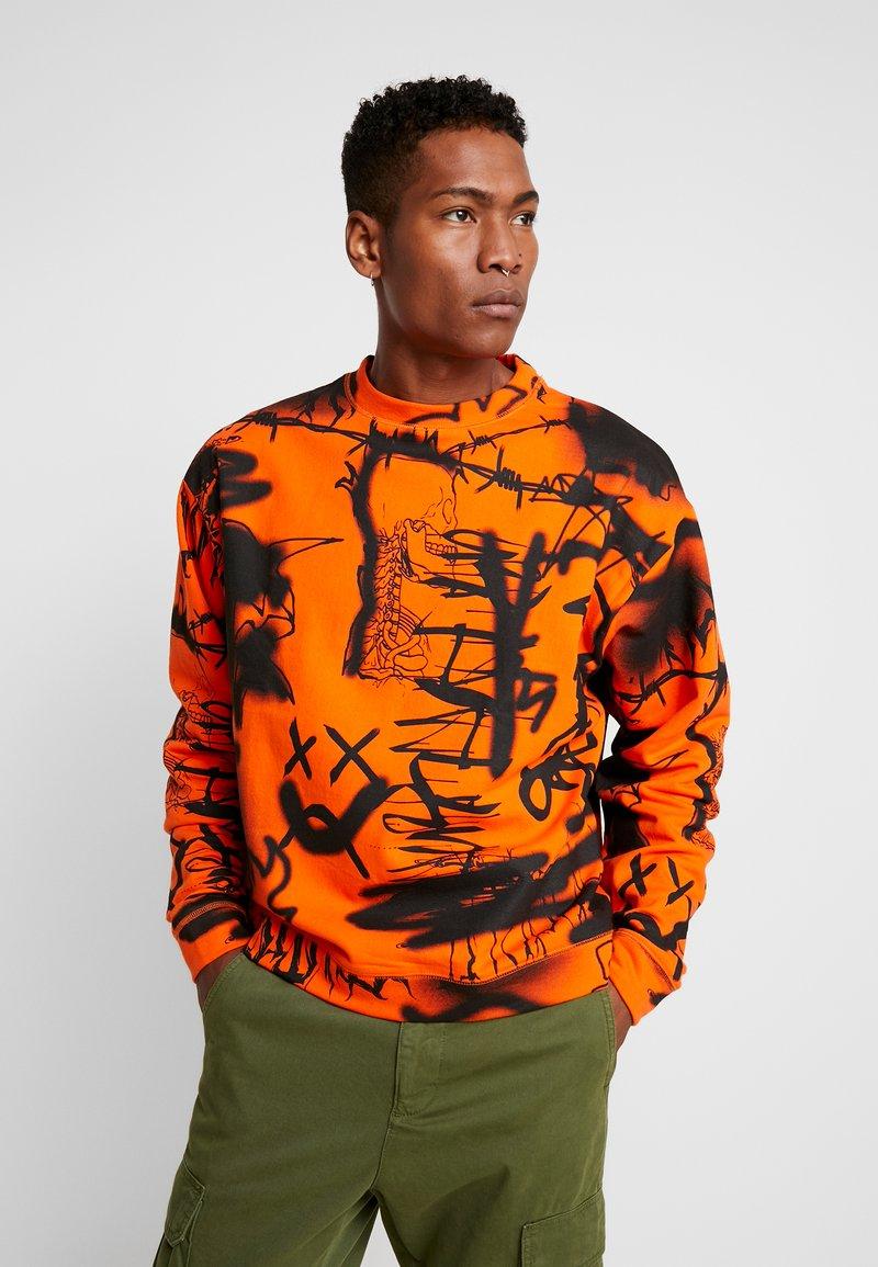 Jaded London - GRAFFITI - Sweatshirt - orange