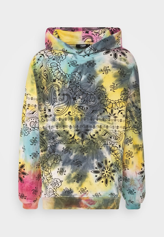 TIE DIE HOODIE - Sweat à capuche - multicoloured