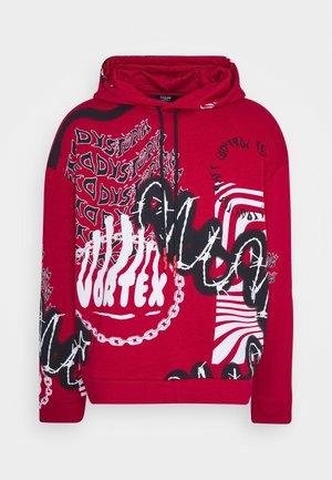 VORTEX GRAFFITI HOODIE - Hoodie - red