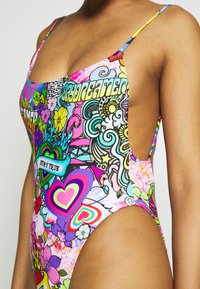 Jaded London - SQUARE NECK CAMI SWIMSUIT 70'S HIPPIE PRINT - Badeanzug - multicoloured - 5