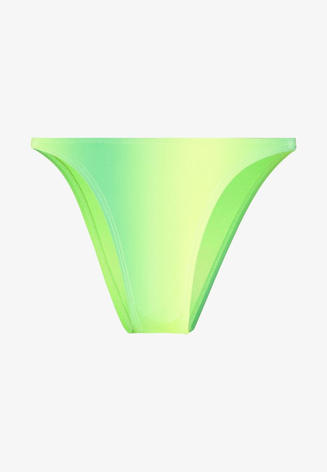 STRAP TRIANGLE BOTTOMS - Bikini bottoms - lime