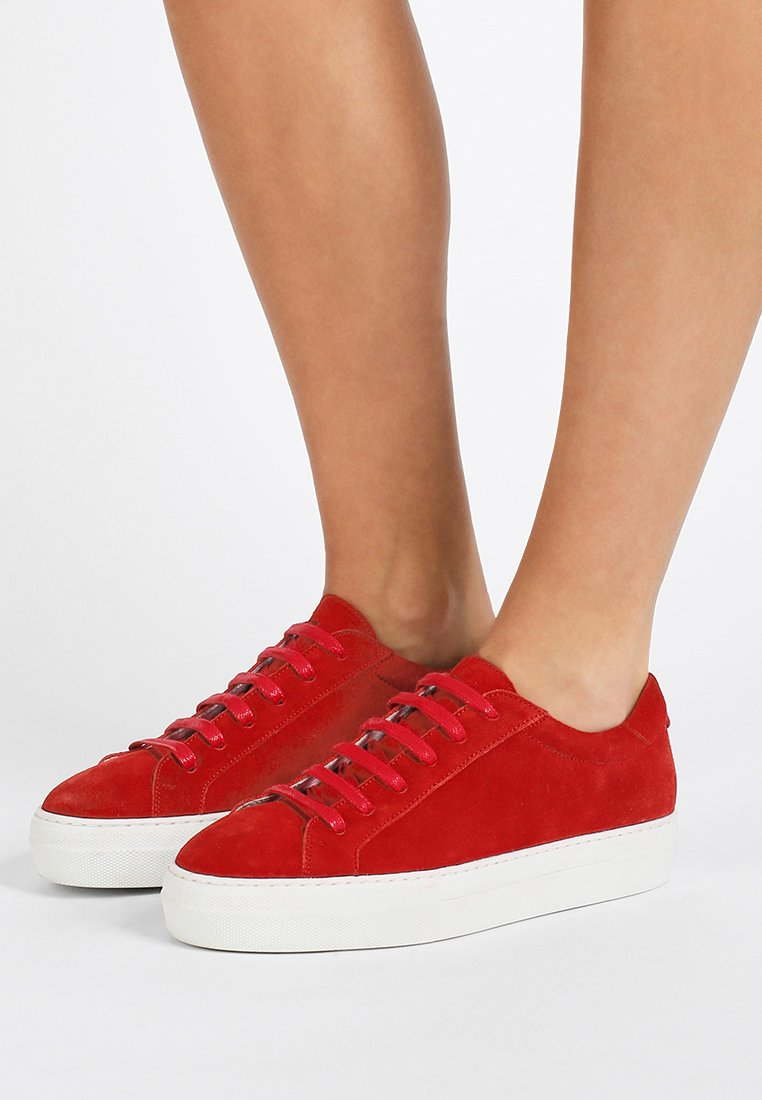 J.LINDEBERG - LACE - Sneaker low - red