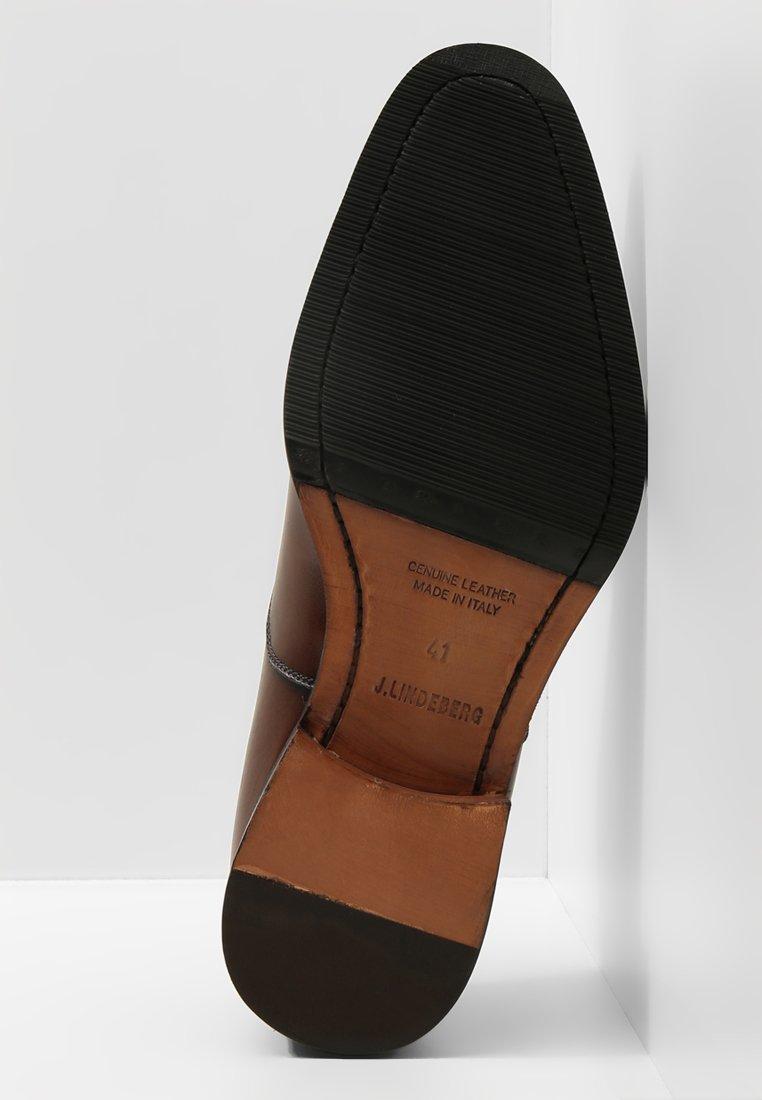 J.lindeberg Hopper Toe Port - Stringate Eleganti Brown