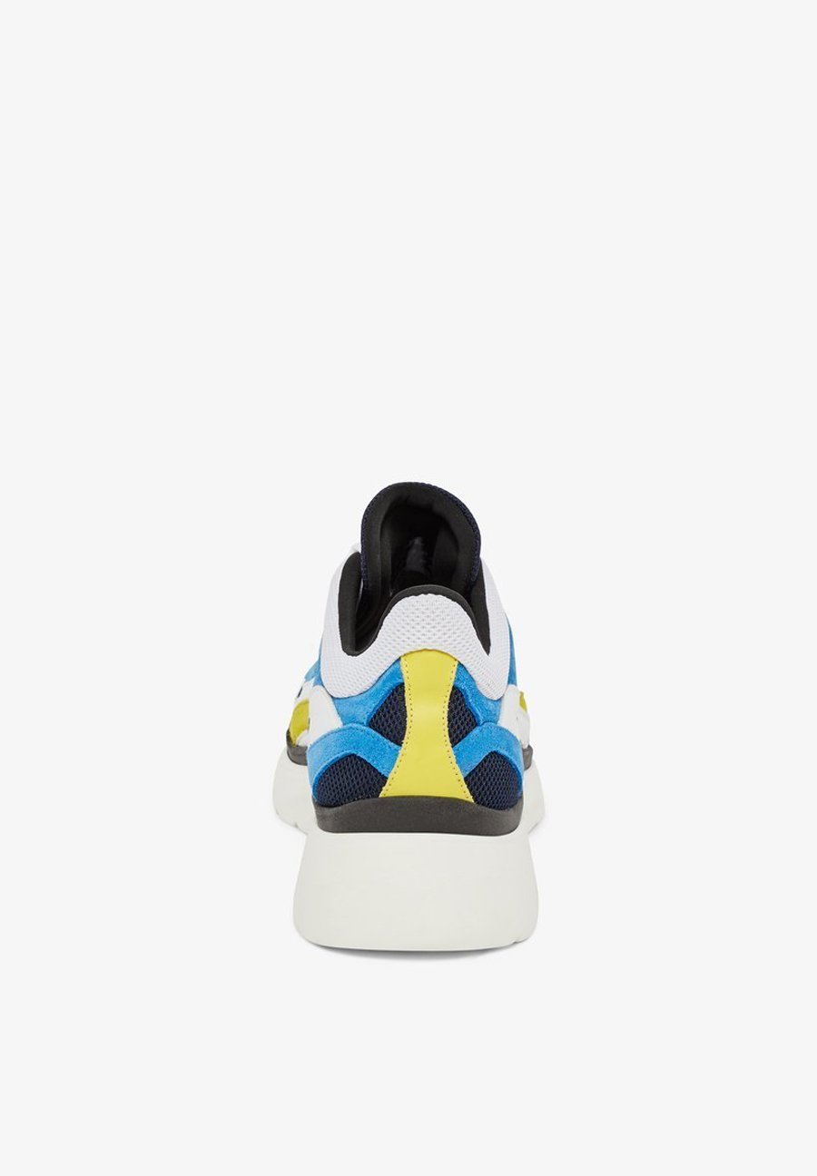 J.lindeberg Sneaker Sane Runner - Baskets Basses Yale Blue nzCGhZt