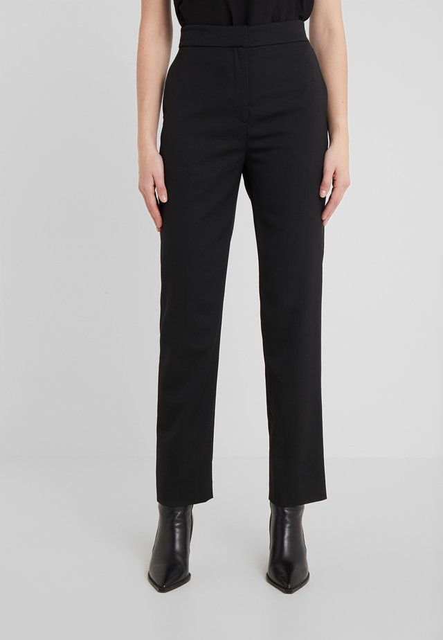 KYLIE GABARDINE - Trousers - black
