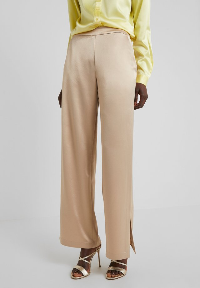 MILA FLUID - Trousers - sheppard