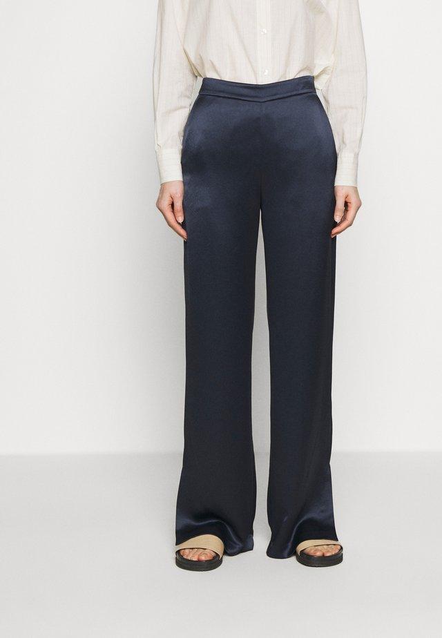 MILA FLUID - Spodnie materiałowe - navy