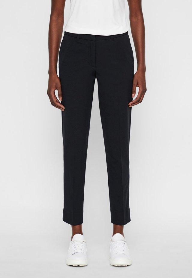 AVALON - Spodnie materiałowe - black