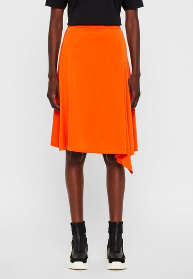 J.LINDEBERG - A-line skirt - orange
