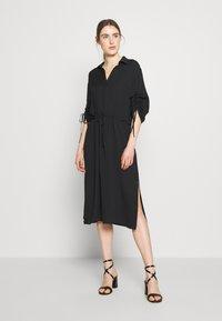 J.LINDEBERG - ZAPPA SEMI TRANSPARENT - Day dress - black - 0