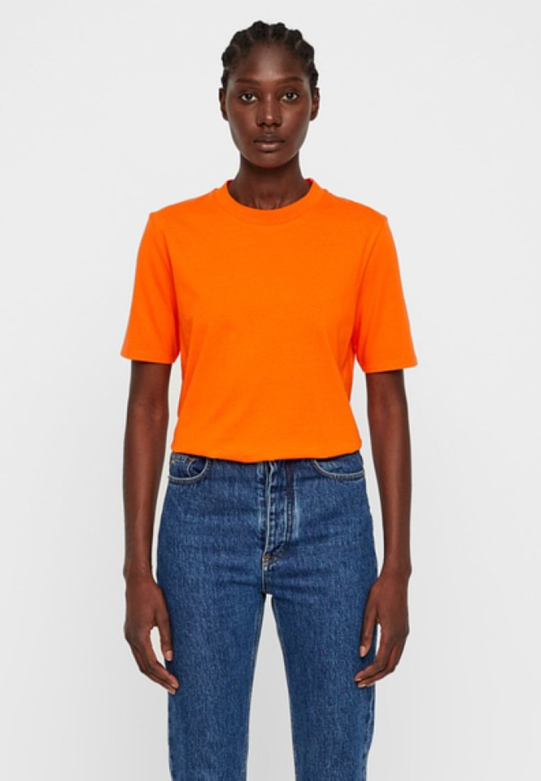 J.LINDEBERG - MONIQUE - Basic T-shirt - juicy orange
