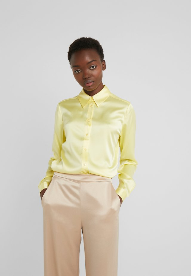 MALLORY - Button-down blouse - still yellow