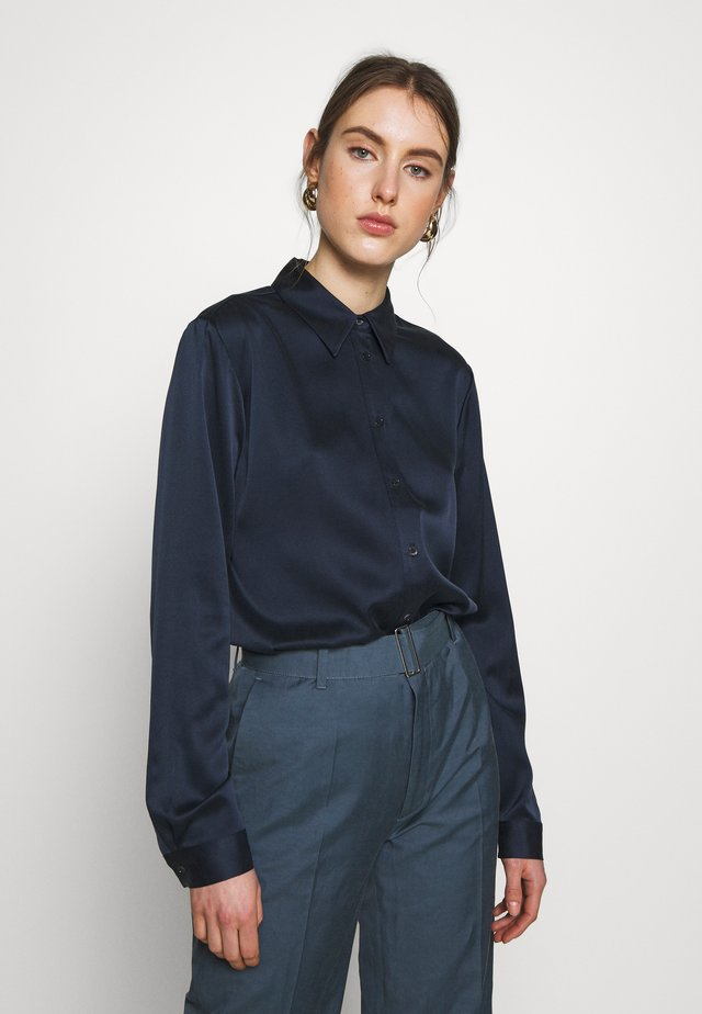 MALLORY - Button-down blouse - navy
