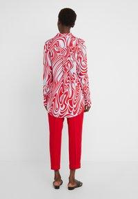 J.LINDEBERG - EDDIE - Button-down blouse - red swirl - 2