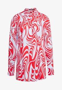 J.LINDEBERG - EDDIE - Button-down blouse - red swirl - 6