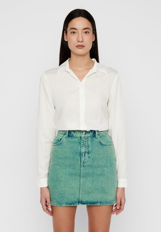 MALLORY  - Button-down blouse - cloud white