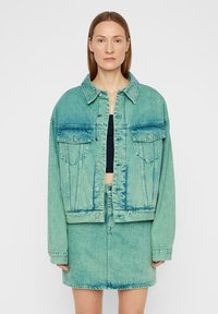 J.LINDEBERG - Denim jacket - o.d denim green - 0