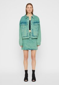 J.LINDEBERG - Denim jacket - o.d denim green