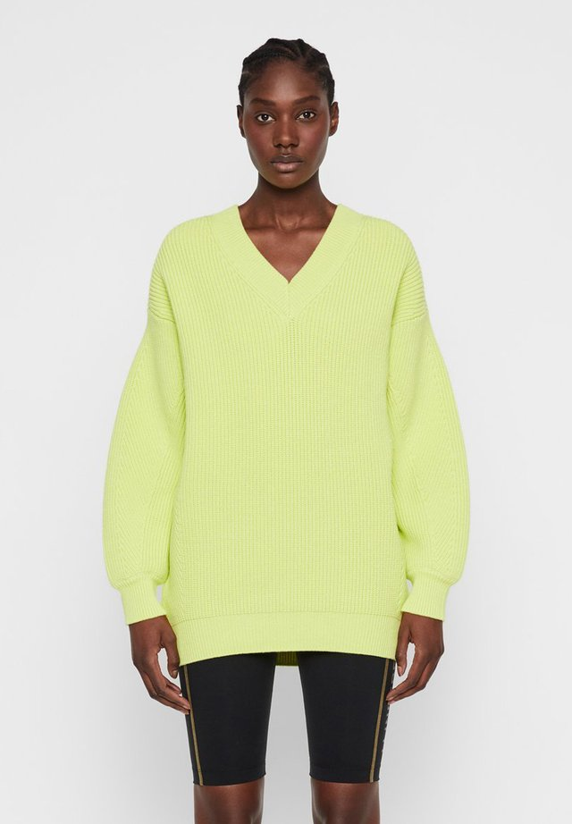 JANE - Strickpullover - still yellow