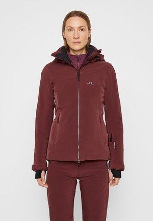 WATSON DERMIZAX - Ski jacket - dark mocca
