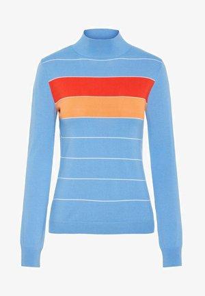 KYRA - Stickad tröja - lake blue