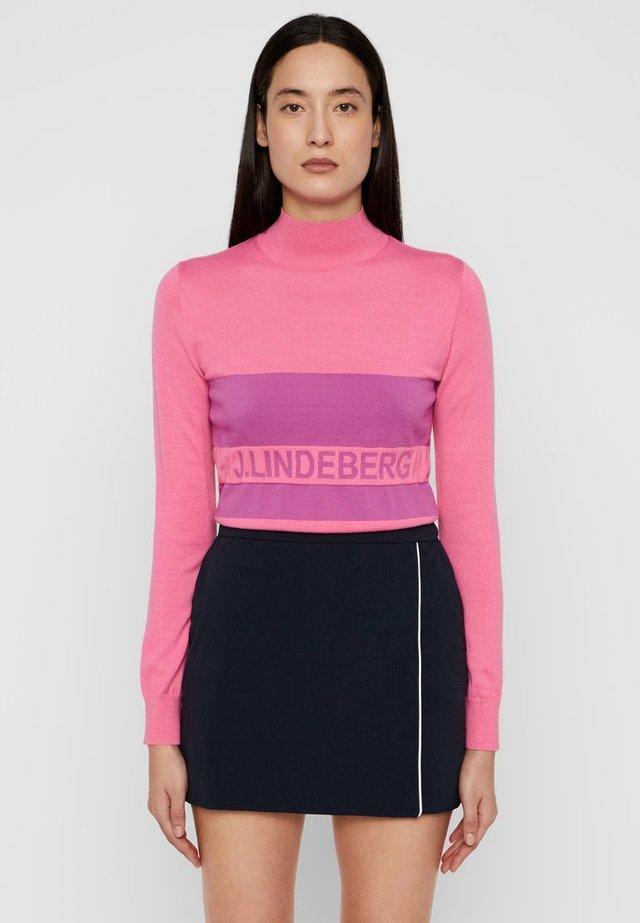 Strickpullover - pop pink