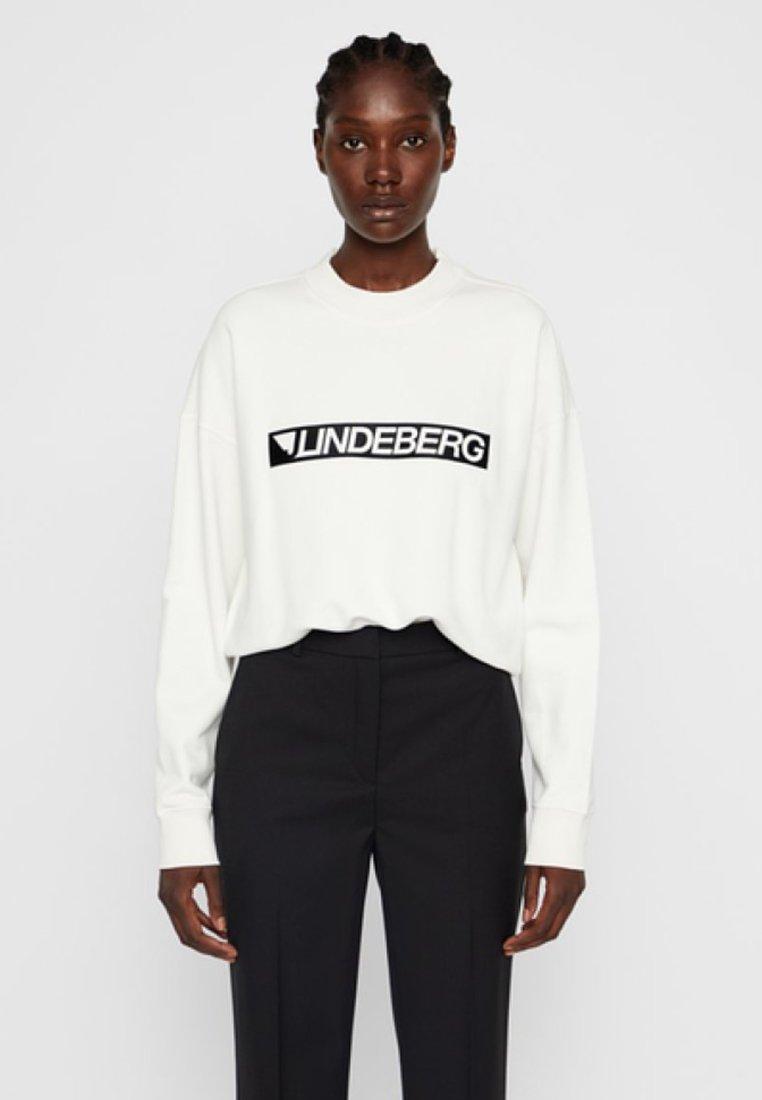 J.LINDEBERG - Sweatshirt - cloud dancer