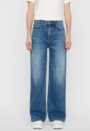 JEANS LUCIE VINTAGE BLUE - Flared Jeans - light blue