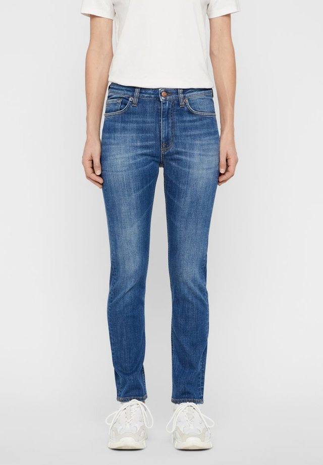 JEANS RODE WASHED OUT - Jeansy Straight Leg - light blue
