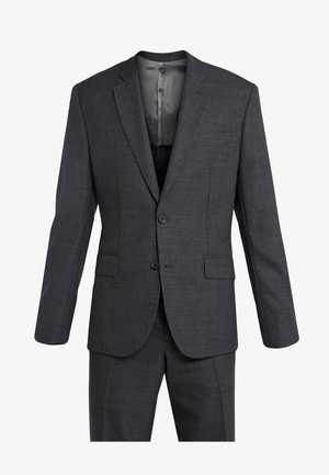 HOPPER SOFT COMBAT - Suit - darkk grey melange