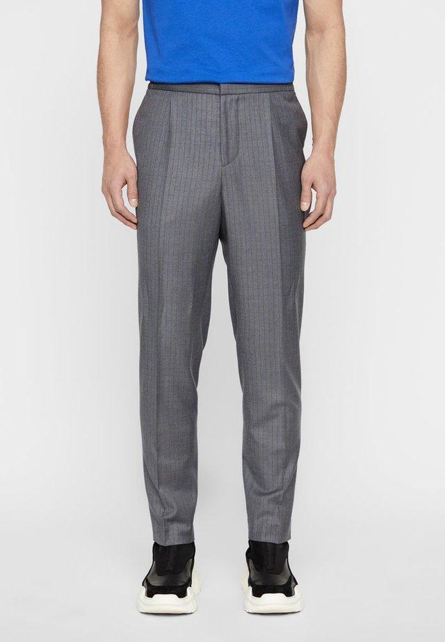 Jakkesæt bukser - dark gray melange