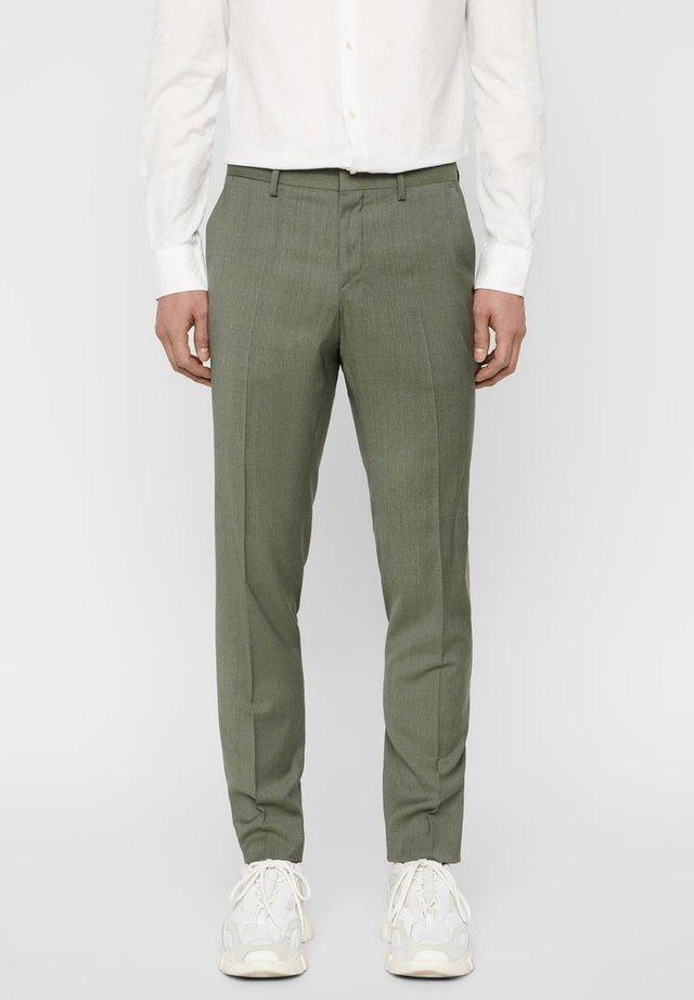 PAULIE  - Jakkesæt bukser - covert green