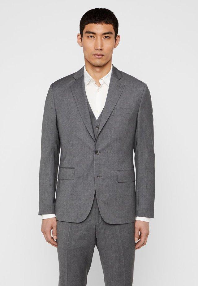 HOPPER  - Jakkesæt blazere - stone grey