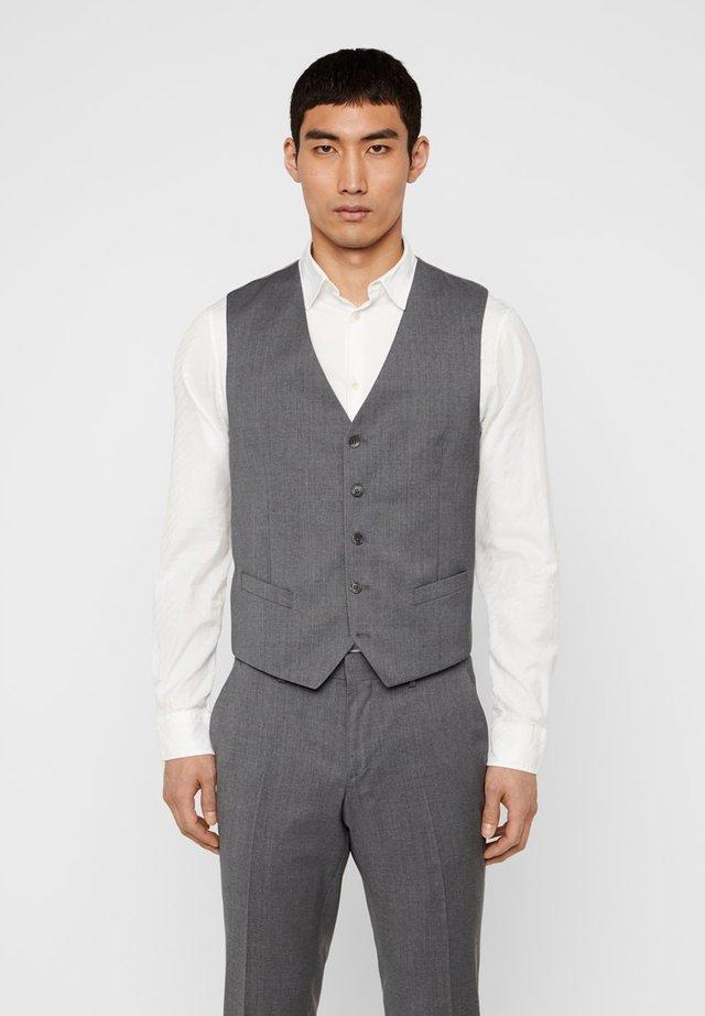 WESTE JUSTIN COMFORT WOOL - Gilet elegante - stone grey