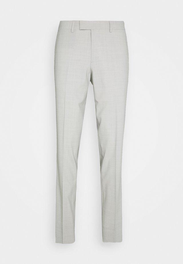 GRANT TRAVEL - Jakkesæt bukser - cloud grey