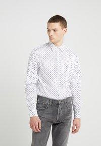 J.LINDEBERG - DAVID  - Camisa - white/black - 0