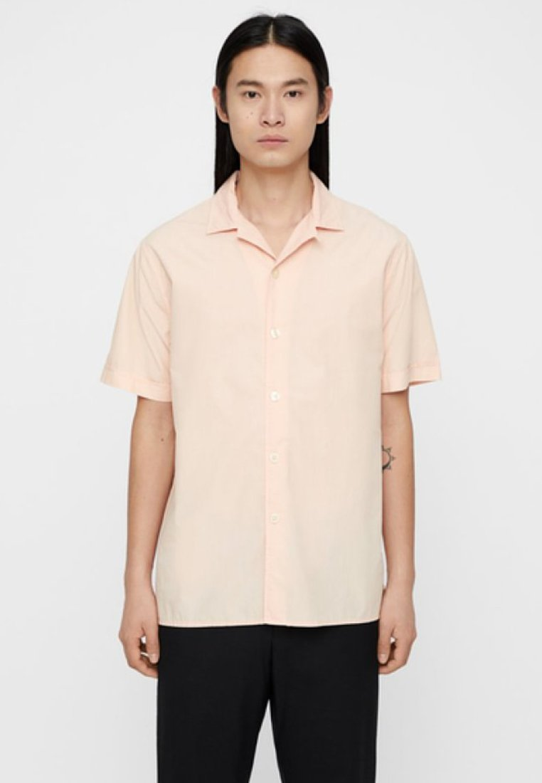 J.LINDEBERG - DAVID SS RESORT - Shirt - summer beige