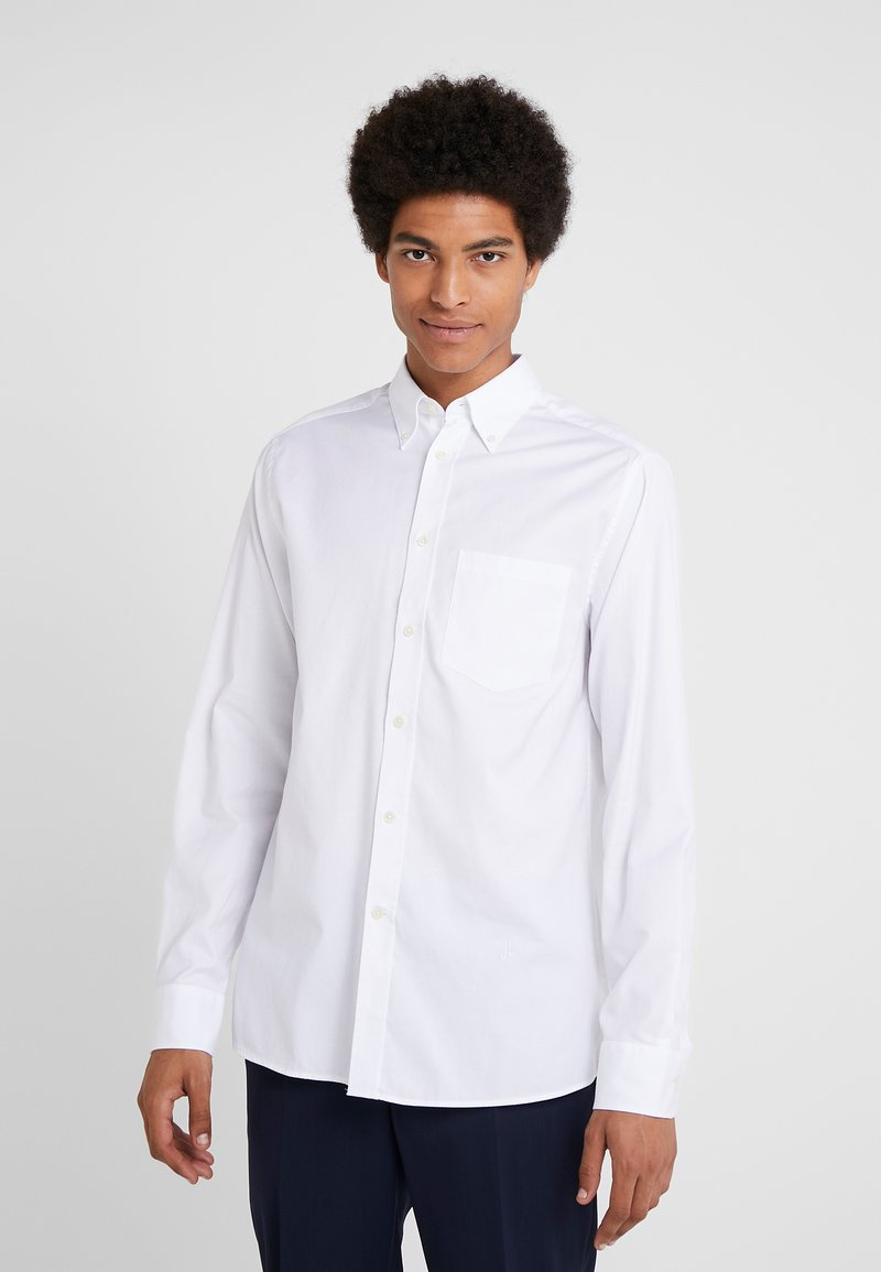 J.LINDEBERG - DANIEL STRETCH OXFORD - Skjorte - white