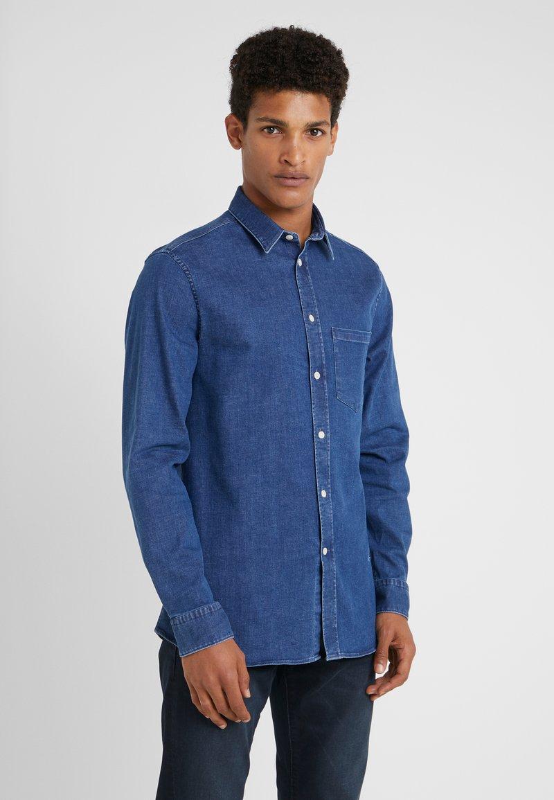 J.LINDEBERG - DANIEL - Shirt - mid blue