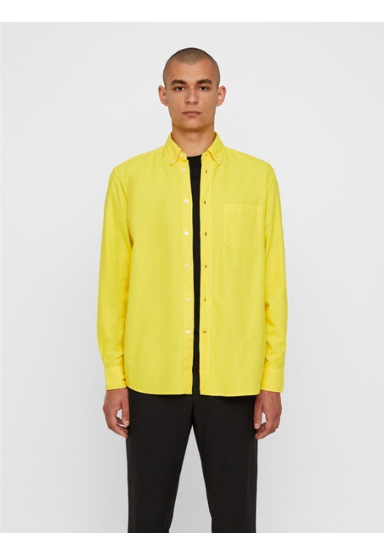 J.LINDEBERG - REGULAR FIT - Hemd - sun yellow