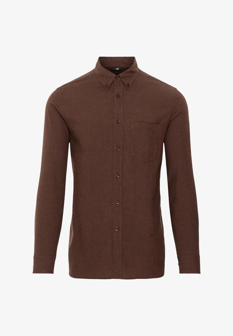 J.LINDEBERG - DANIEL LIGHT  - Overhemd - brown