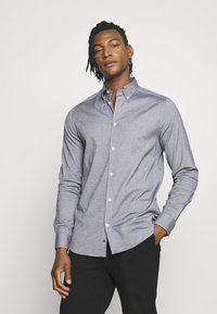 J.LINDEBERG - DANIEL BD-STRETCH OXFORD - Shirt - navy - 0