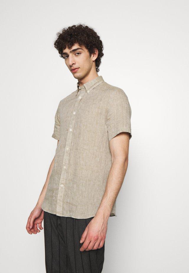 DANIEL - Skjorte - beige melange