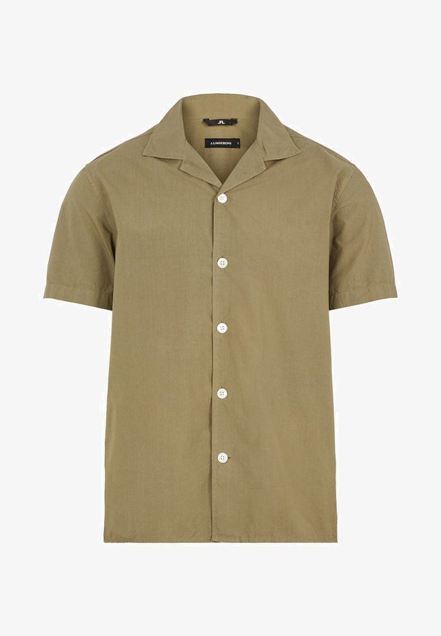 DAVID POPLIN - Chemise - covert green